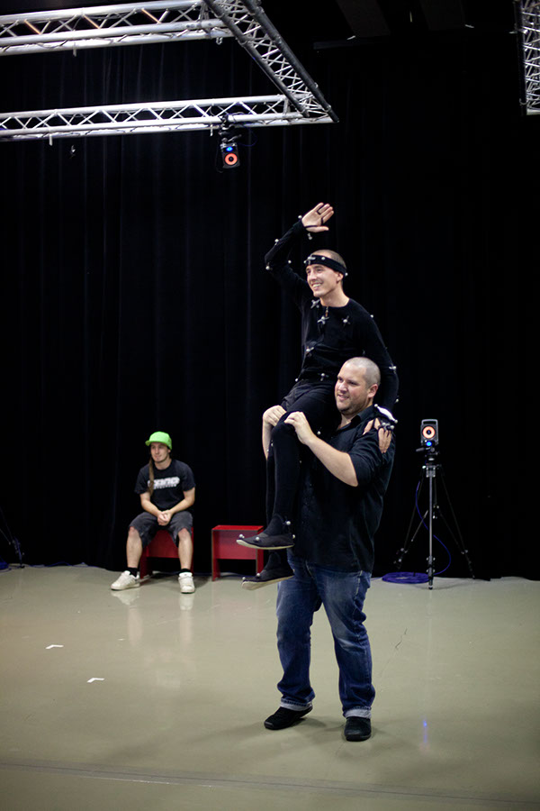 Motion capture courses