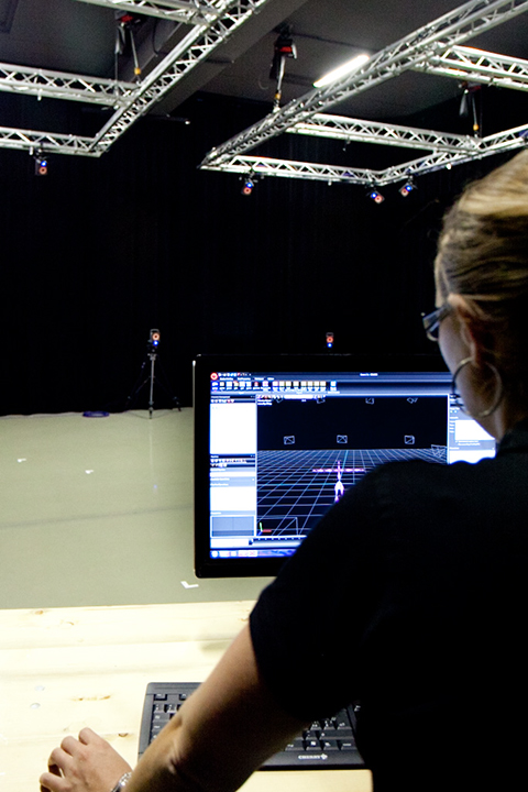 Motion capture studio