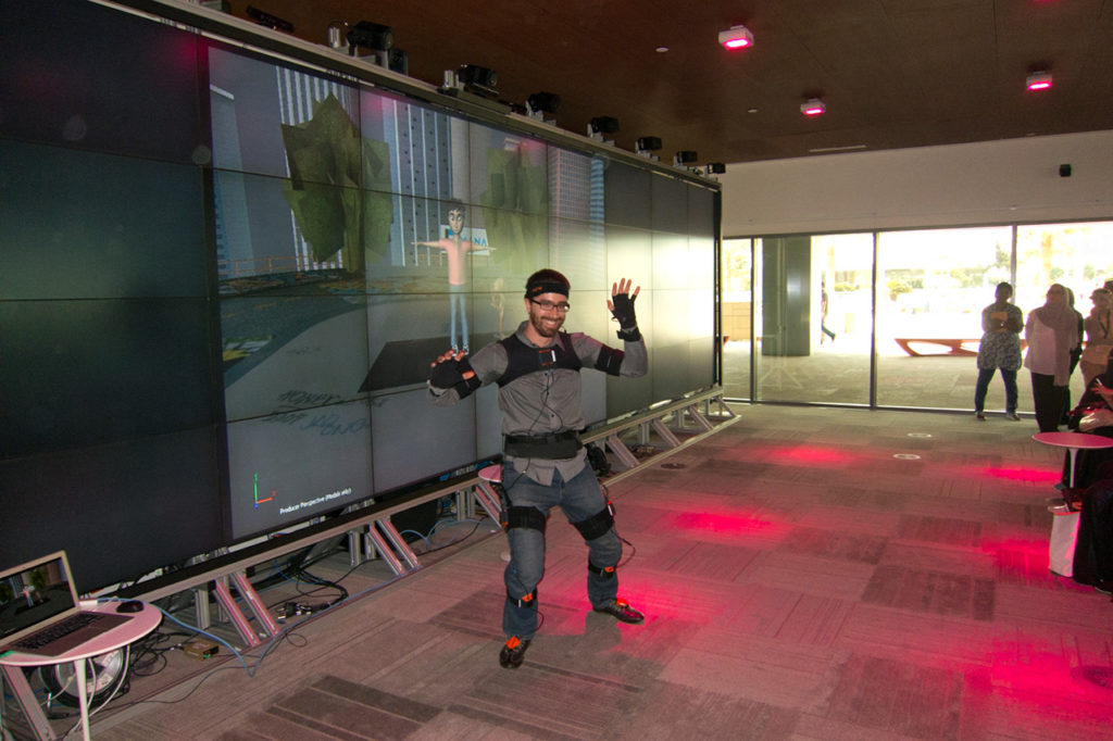 Motion capture showcase