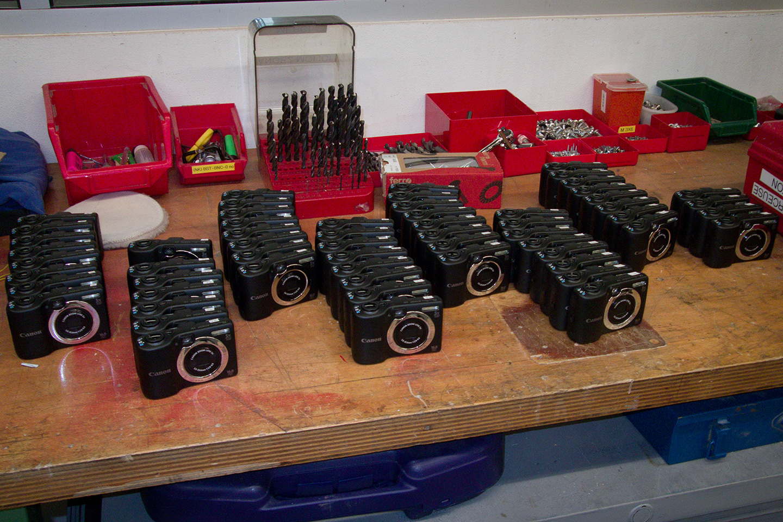 64 Powershot A1400 cameras