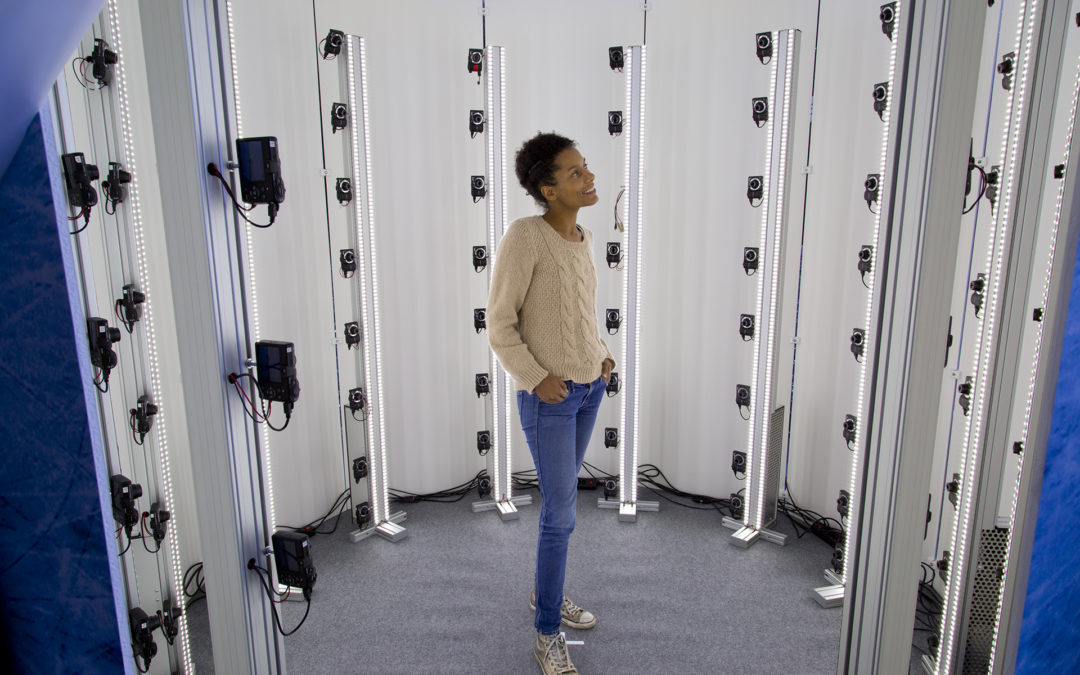 3D body scanner photogrammetric