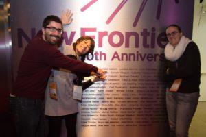 Artanim team at New Frontier