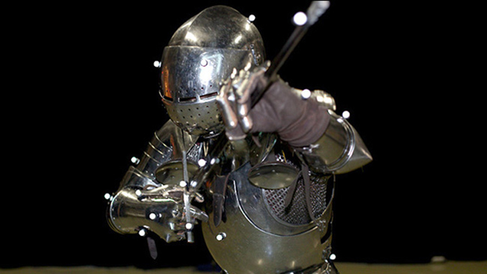 Motion Capture of a Knight in Armor