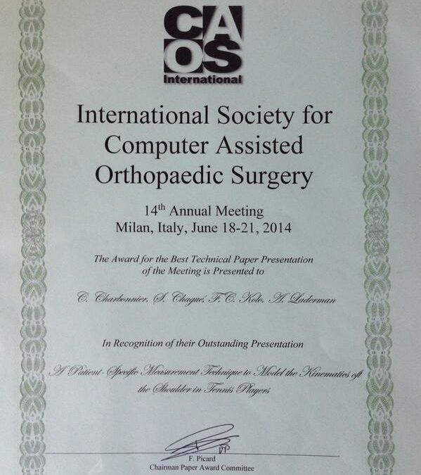 CAOS Award 2014