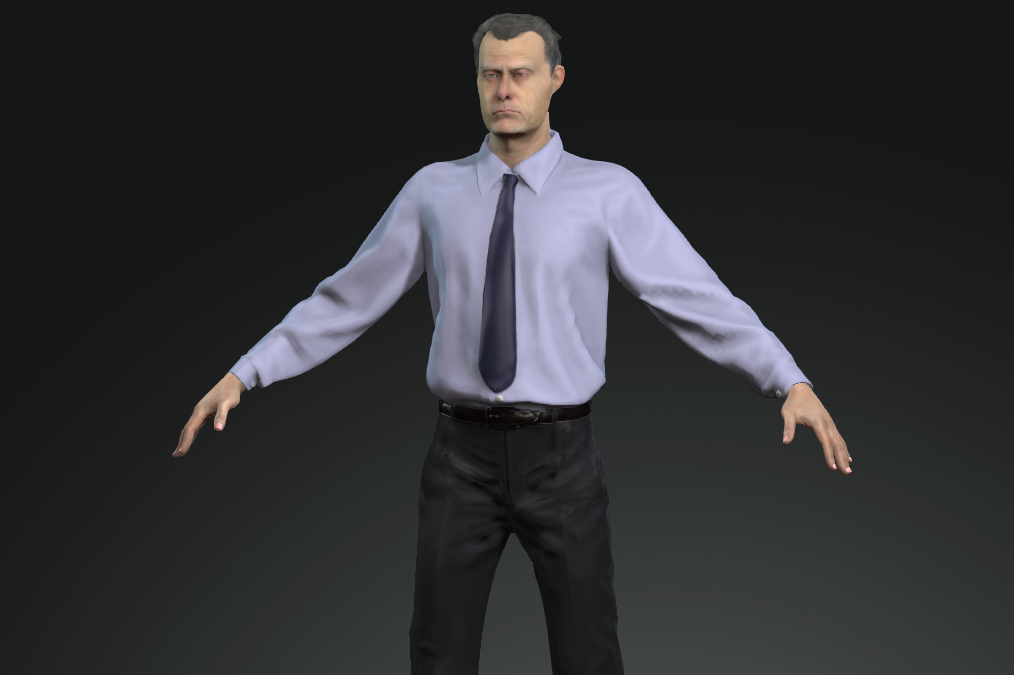 3D Character Creation for Interactive VR